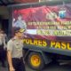 Peduli Korban Banjir, Polres Pasuruan Kirimkan Logistik ke Bondowoso