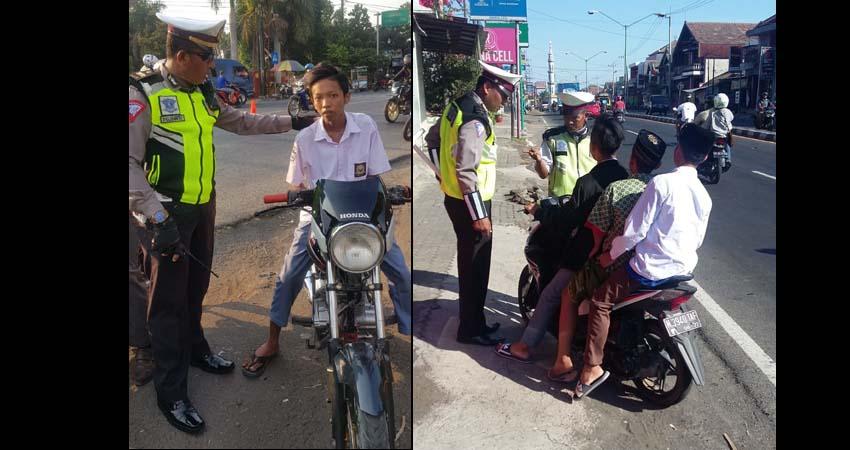Kurang dari 3 Bulan, 12.710 Pelanggar Lalin Pasuruan Ditindak