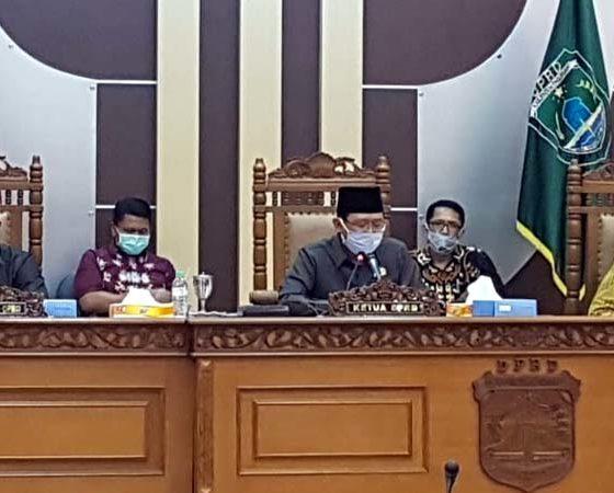 DPRD Kabupaten Pasuruan, Refocusing Anggaran Rp 9,950 Miliar