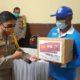 Polres Pasuruan Bersama PT Siantar Top Bagi 1500 Paket Sembako