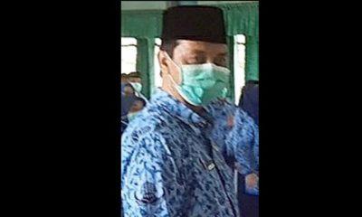 Muchlis pejabat Pemkab Pasuruan pengusir jurnalis. (dok)