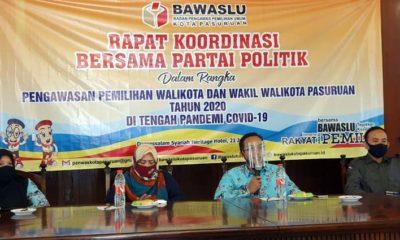 Bawaslu Kota Pasuruan, Mantapkan Pelaksanaan Pilwali