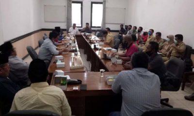 Hearing Komisi III DPRD Kab.Pasuruan bersama DLH dan aktivis lingkungan