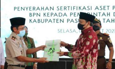 Tahun 2021, BPN Kabupaten Pasuruan Targetkan 1.168 Aset Pemkab Bersertifikat